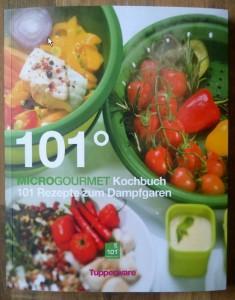 101° MicroGourmet Kochbuch - 101 Rezepte zum Dampfgaren Cover