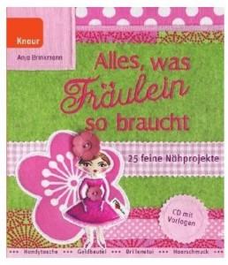 Alles, was Fräulein so braucht Nähen Cover Anja Brinkmann