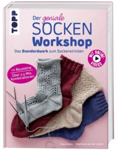 Cover Rezension Der geniale Sockenworkshop Stephanie van der Linden Ewa Jostes
