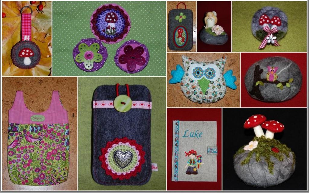 DaWanda Gretels Werke Collage 111. Verkauf Jubiläum