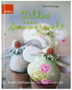 Tildas neue Sommerwelt Freche Stoffideen im skandinavischen Stil Tone Finnanger Rezension Cover Kritik