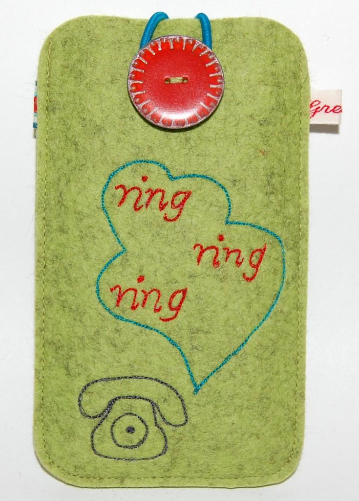 gemalte Telefon Smartphone Tasche